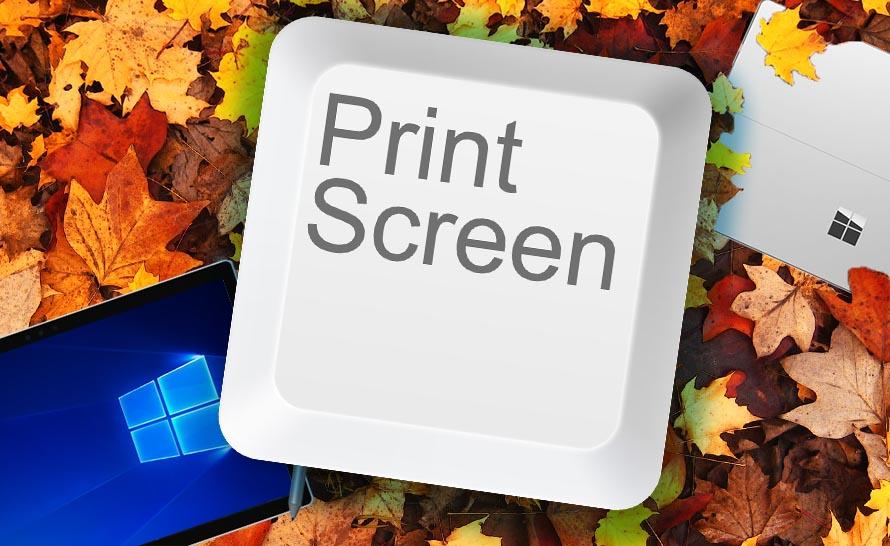 Jak zrobić print screen Windows 10